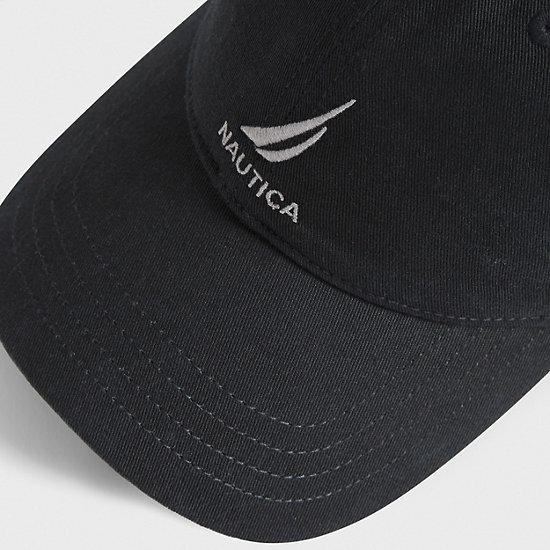 J-Class Adjustable Cap,True Black,large