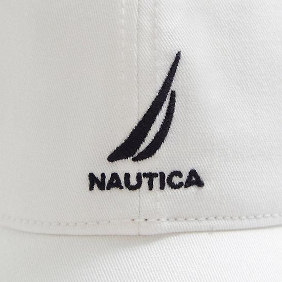 J-Class Adjustable Cap,White,large