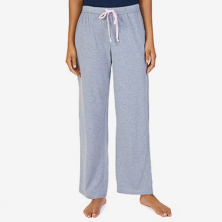 Knit Solid Ankle Pant - Ice Grey Heather