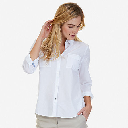 Solid Perfect Shirt - Bright White