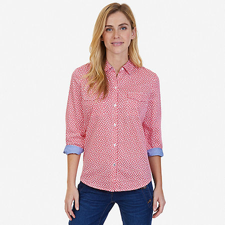 Floral Perfect Shirt - Desert Rose