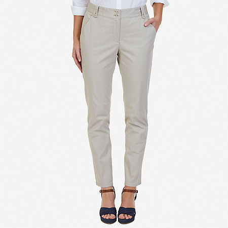 Stretch Twill Ankle Pant - Sandcove