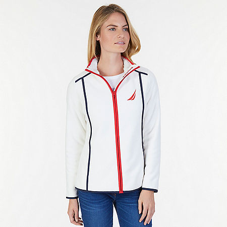 Nautex Zip-Front Jacket - Marshmallow