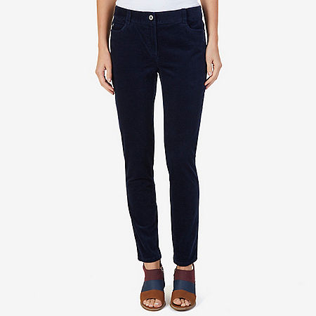 5-Pocket Stretch Corduroy Pant - Dreamy Blue