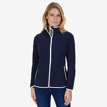 Sherpa Lined Nautex Fleece - Dreamy Blue