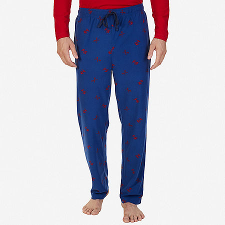 ANCHOR PRINT PANT - Estate Blue