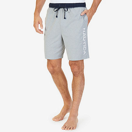 Heritage Logo Sleep Short - Grey Heather