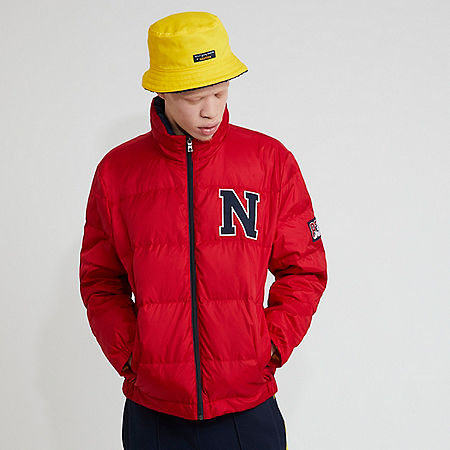The Lil Yachty Collection by Nautica Quilted Ripstop Jacket - Nautica Red