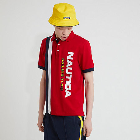 The Lil Yachty Collection by Nautica Color Block Polo Shirt - undefined