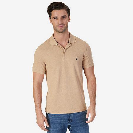 Slim Fit Deck Polo Shirt  - Espresso