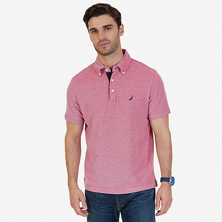 Classic Fit Polo Shirt - Nautica Red