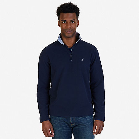 Quarter Zip Nautex Fleece - Navy