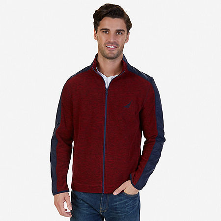 Zip-Front Fleece - Nautica Red