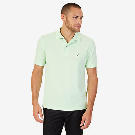 Classic Fit Performance Stretch Polo Shirt - Green Spruce