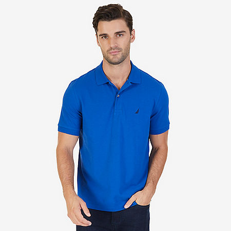 Classic Fit Cooling Performance Polo Shirt - J Navy