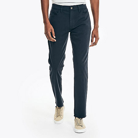 Stretch 5-Pocket Slim Fit Pants - Navy
