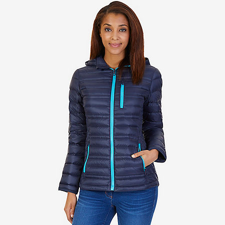 Down Puffer Jacket - Dreamy Blue