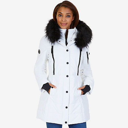 Active Puffer Parka - Bright White