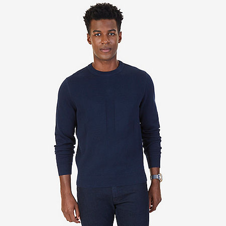 Anchor Sweater - Navy