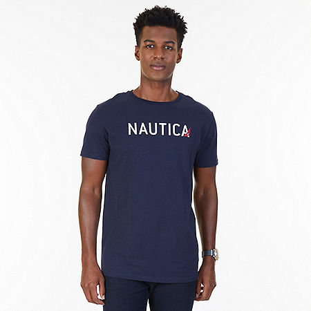 Signature Logo T-Shirt - Navy