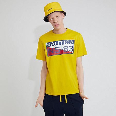 The Lil Yachty Collection by Nautica NS83 Graphic T-Shirt - Shoreline Yellow