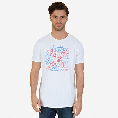 Regatta Graphic T-Shirt - Bright White