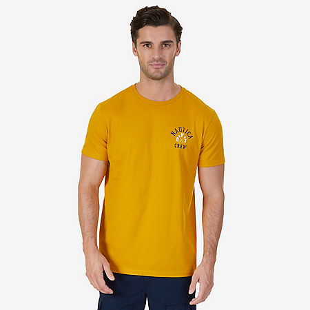 Nautica Crew Graphic T-Shirt - Yellow