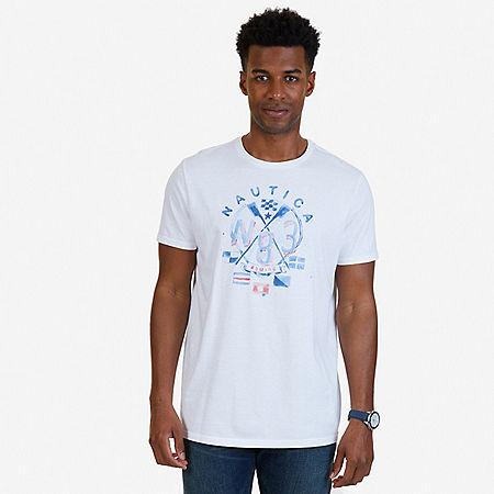 N83 Graphic T-Shirt - Bright White