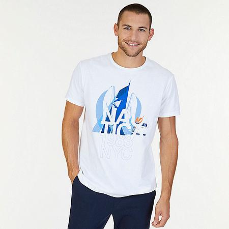 1983 NYC Graphic T-Shirt - Bright White