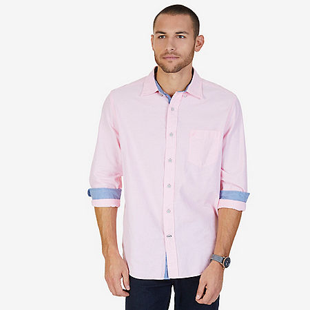 Pinpoint Oxford Shirt - Orchid Pink
