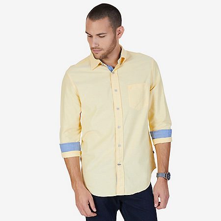 Pinpoint Oxford Shirt - Corn