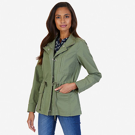 Twill Jacket - Light Olive