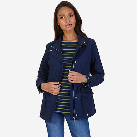 Twill Jacket - Indigo Heather