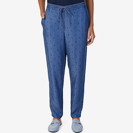 Anchor Chambray Pant - Cape Grey Wash