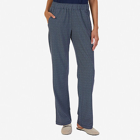 Printed Pant - Indigo Heather
