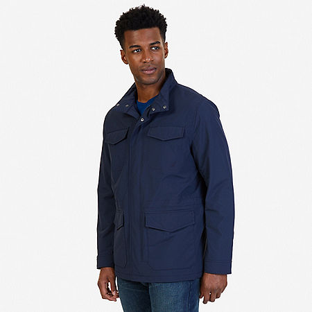 Multi Pocket Utility Jacket - True Navy