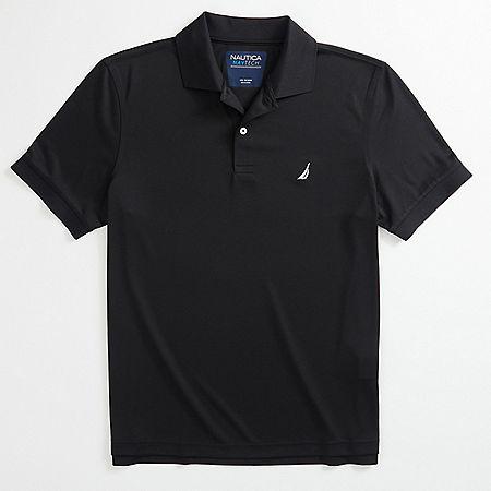 Tech Jersey Polo Shirt - True Black