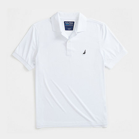 Tech Jersey Polo Shirt - Bright White
