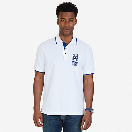 Classic Fit Signature Polo Shirt - Bright White