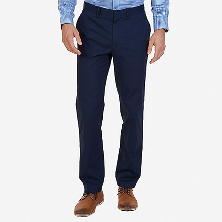 Classic Fit Bedford Cord Pant - Navy
