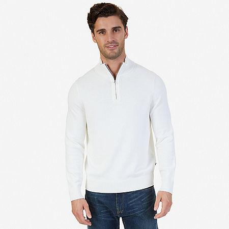 Quarter-Zip Sweater - Marshmallow