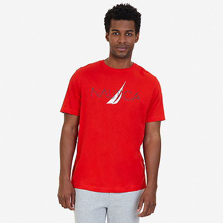 J Class Sleep T-Shirt - Sunrise Red