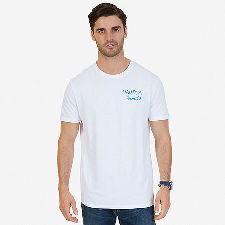 Team 83 Graphic T-Shirt - Bright White