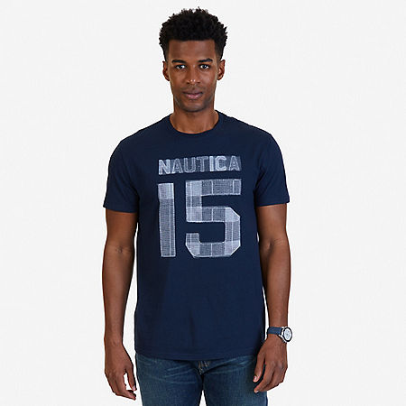 Nautica 15 Graphic T-Shirt - Navy