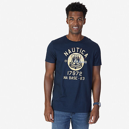Logistics Command Graphic T-Shirt - Navy