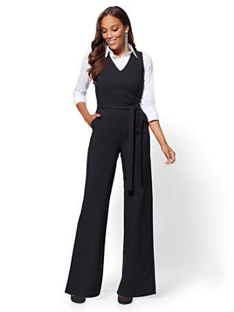 7th Avenue   Jumpsuit   All Season Stretch by New York & Company