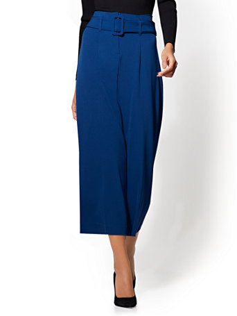 7th Avenue Pant - Belted Culotte | Tuggl