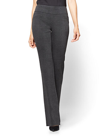 Ny Amp C 7th Avenue Pant Pull On Bootcut Signature Grey