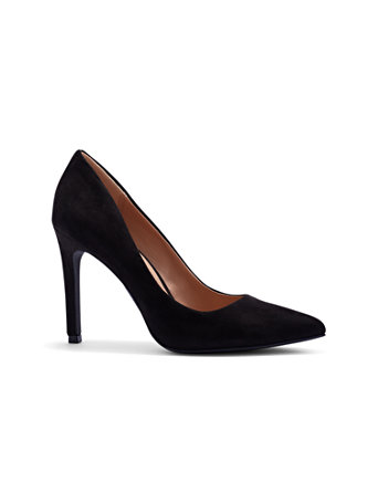 Contrast Trim Black Pump by New York & Company