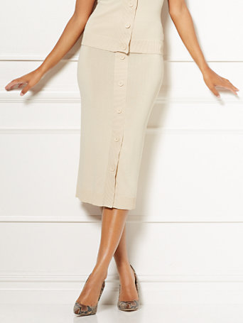 Eva Mendes Collection   Alissa Sweater Skirt by New York & Company